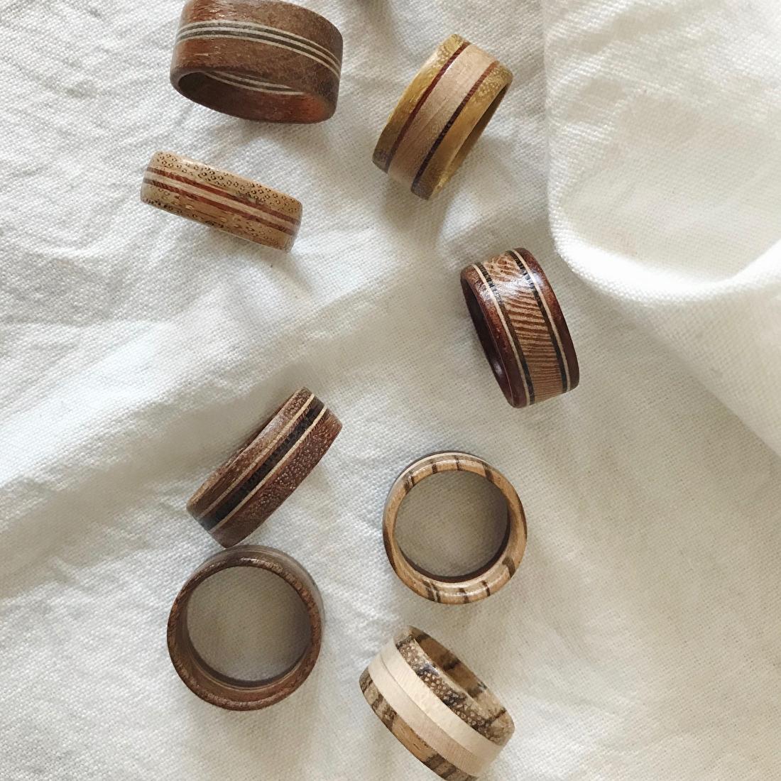 houten ringen studio mooibos
