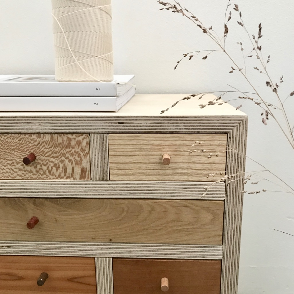 houten ladekast studio mooibos