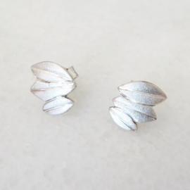 Zilveren oorstekers Sage