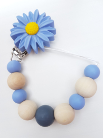 Speenkoord | Flower Blue