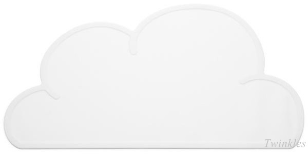 Placemat wolk | Wit