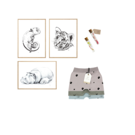 Maternity Gift Set PP - poster & pants of your on choice - from €26,50