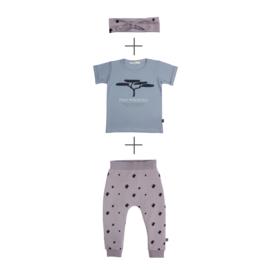 Pants Dove +  T-shirt Pino met of zonder haarband
