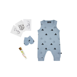 Maternity Gift Package Faded Denim - select your favourites -  from €23,50