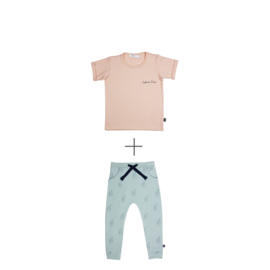 Pants Penguins +  T-shirt Safari Time