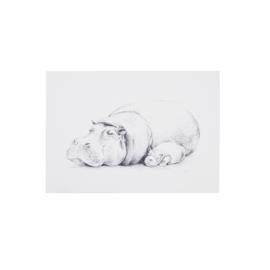 Kaartje -  Sleepy Hippo