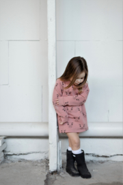 Long Sweater/ Sweat Dress Desert Sand
