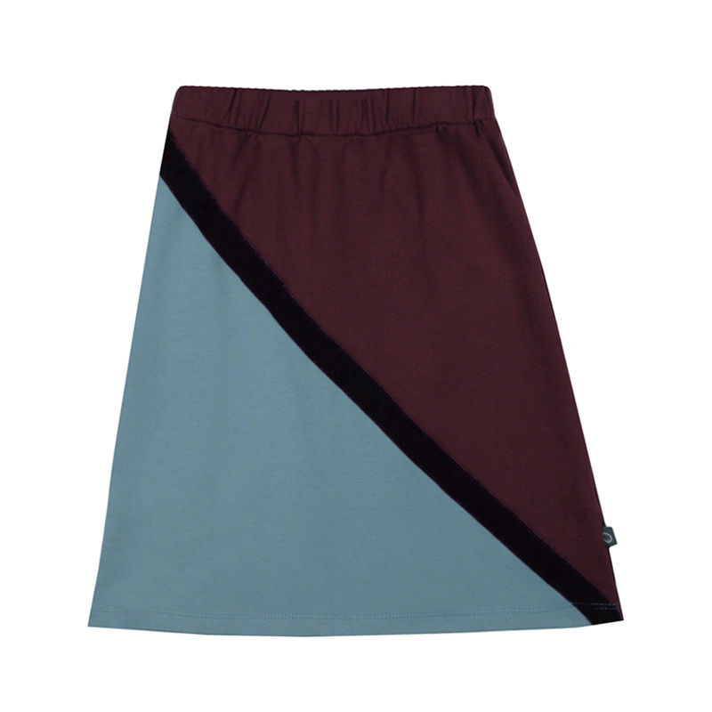 Midi Skirt Colourblock