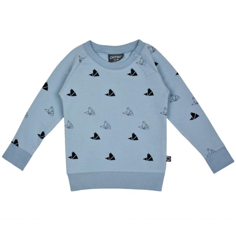 Sweater Faded Denim