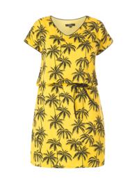 Zomers jurkje met palmboom print  van By Bella