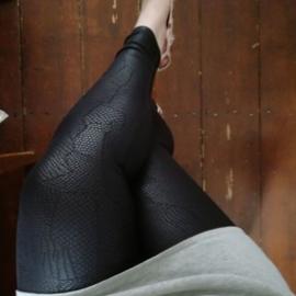 Adia Legging met slangenprint