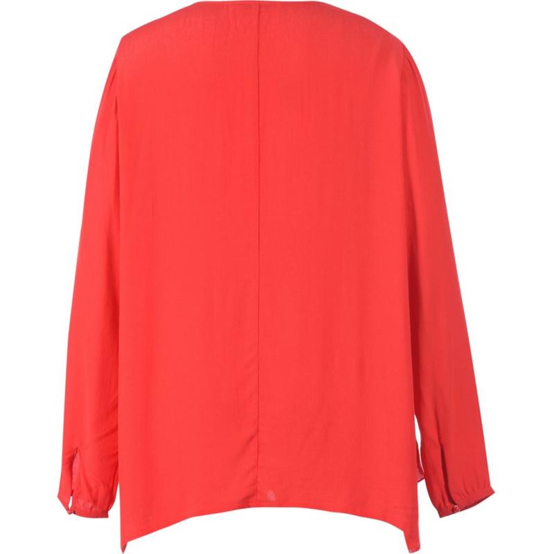 Studio laagjes blouse met lange mouw