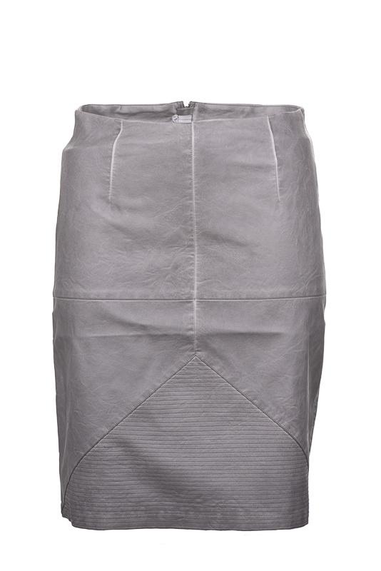 Adia leather look rok 60 cm