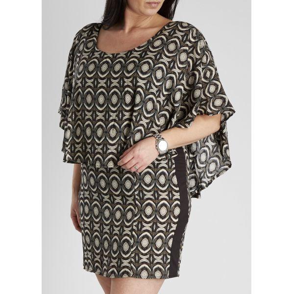 Zoey jurk met print