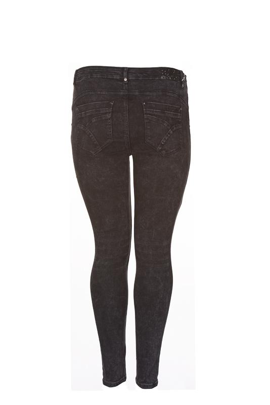 Adia jeans Milan 78cm zwart