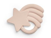 Bijtring Leaves - Star Pink - Jollein