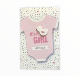 Geboorte Wenskaart Girl
