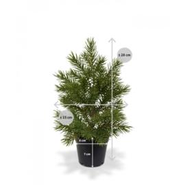 Mini Kunstkerstboom 28 cm
