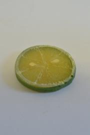 Limoen schijfje 6 cm