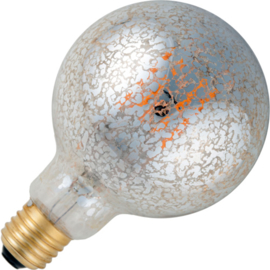 GBO LED Globe lamp G95 Vintage-Oil  E27 zilver 5.5 Watt 922 DB