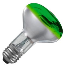 Osram reflectorlamp R80 60 Watt E27 groen