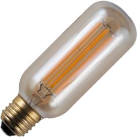 GBO LED buislamp T45 E27 gold 6.5 Watt 925 DB