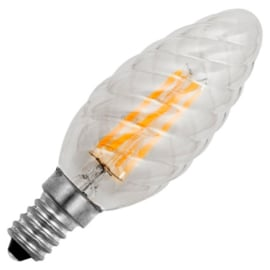 GBO LED Twisted - kaarslamp E14 helder 4 Watt 922 DB