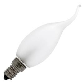 GBO standaard marine Tip kaarslamp C35 mat 25 Watt E14