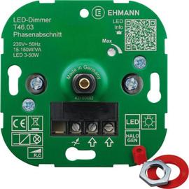 GBO universele LED inbouwdimmer 3 - 150 Watt