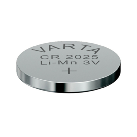 Varta Lithium knoopcel CR2025 3 Volt 6025