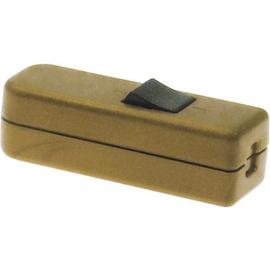 GBO snoerschakelaar 1 polig brons  0-1 laagspanning