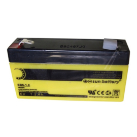 Abus Sun-battery Loodgel Accu 6.0 Volt 1.2 Ah