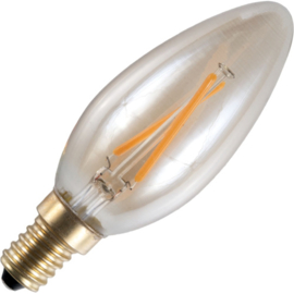 GBO LED kaarslamp E14 gold 1.5 Watt 922 DB