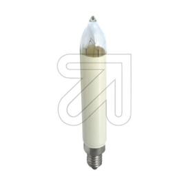 GBO kaarslamp alpine wit helder 8 Volt 3 Watt E10 Bls3