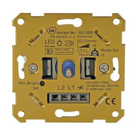 EGB universele One-4-All inbouwdimmer 3 - 400 Watt/VA