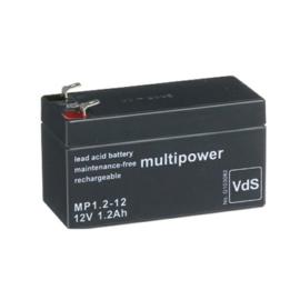 Multipower Loodgel Accu 12.0 Volt 1.2 Ah
