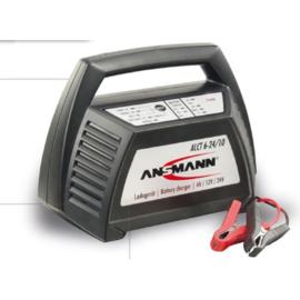 Ansmann Lood (gel) acculader 6-, 12- en 24 Volt + starthulp