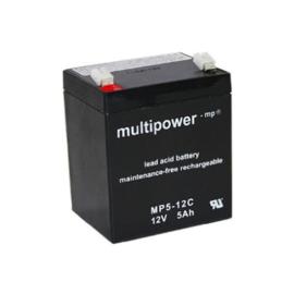 Multipower Loodgel Accu 12.0 Volt 5.0 Ah
