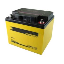 Abus Sun-battery Loodgel Accu 12.0 Volt 38.0 Ah met VdS-Keur