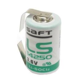 Saft Lithium batterij 1/2AA 3.6 Volt LS14250CNR