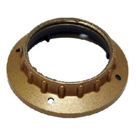 GBO kunststof schroefring  goud ø 58 x 13 mm
