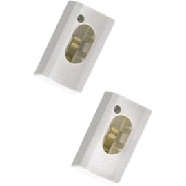 Bailey S14s set à 2 stuks lijnlamphouders wit
