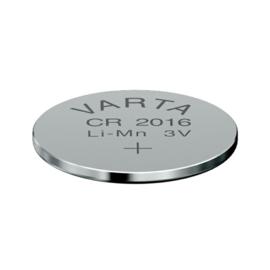 Varta Lithium knoopcel CR2016 3 Volt 6016