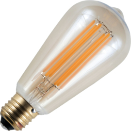 GBO LED Rustika lamp E27 gold 6.5 Watt 922 DB