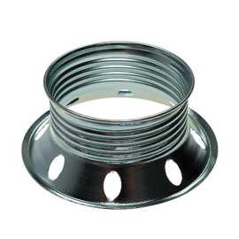 GBO metalen schroefring chroom ø 56.5 x 13 mm