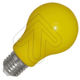 GBO LED normaallamp A60 E27 geel 3 Watt ND per 10 stuks