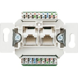 Jung inbouw element 2 x CAT5 8 polig