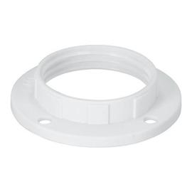 GBO kunststof schroefring  E14 wit ø 40 x 16 mm