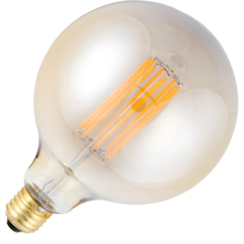 GBO LED Globe lamp G125 E27 gold 8 Watt  922 DB