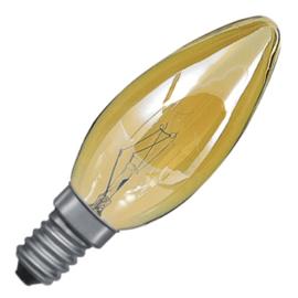 GBO standaard marine  kaarslamp C35 gold 25 Watt E14